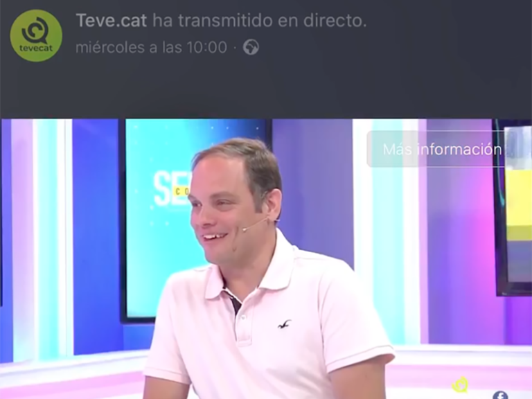 XAVIER LAHUERTA DE ROMERO PREMIUM NETWORKING EN TEVE.CAT